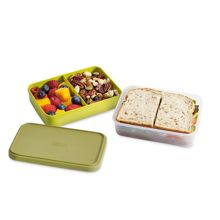 GoEat Compact 2-in-1 lunch box Green