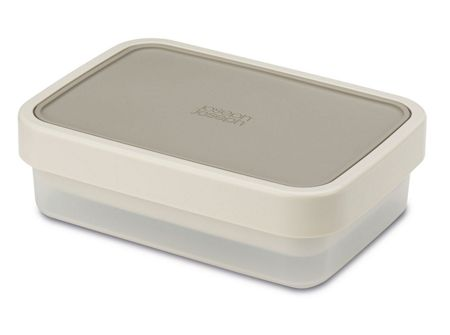 Joseph Joseph GoEat Compact 2-in-1 lunch box Grey