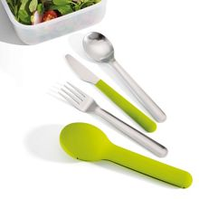 GoEat Compact Stainless-Steel Cutlery Set