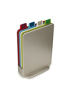 Index Mini Chopping Board Set - Silver