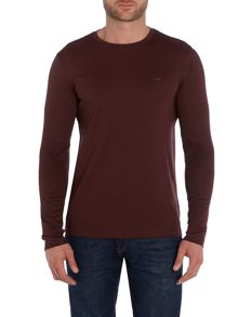 Sleek MK Crew Neck Long Sleeve T Shirt