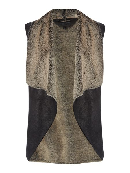Andrew Marc Shearling style gilet