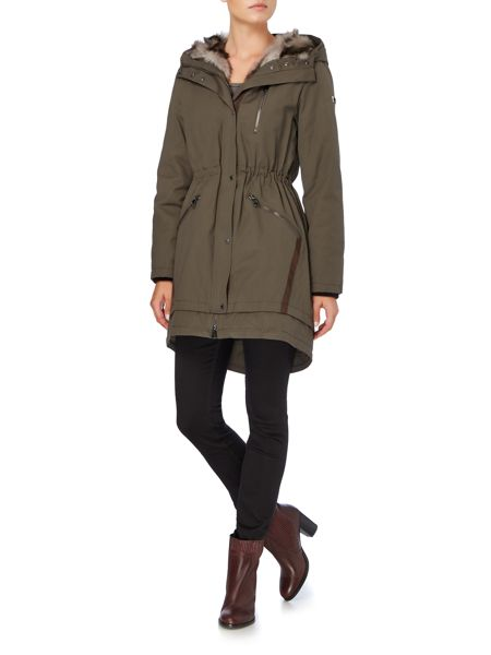 Vince Camuto Hooded parka style coat
