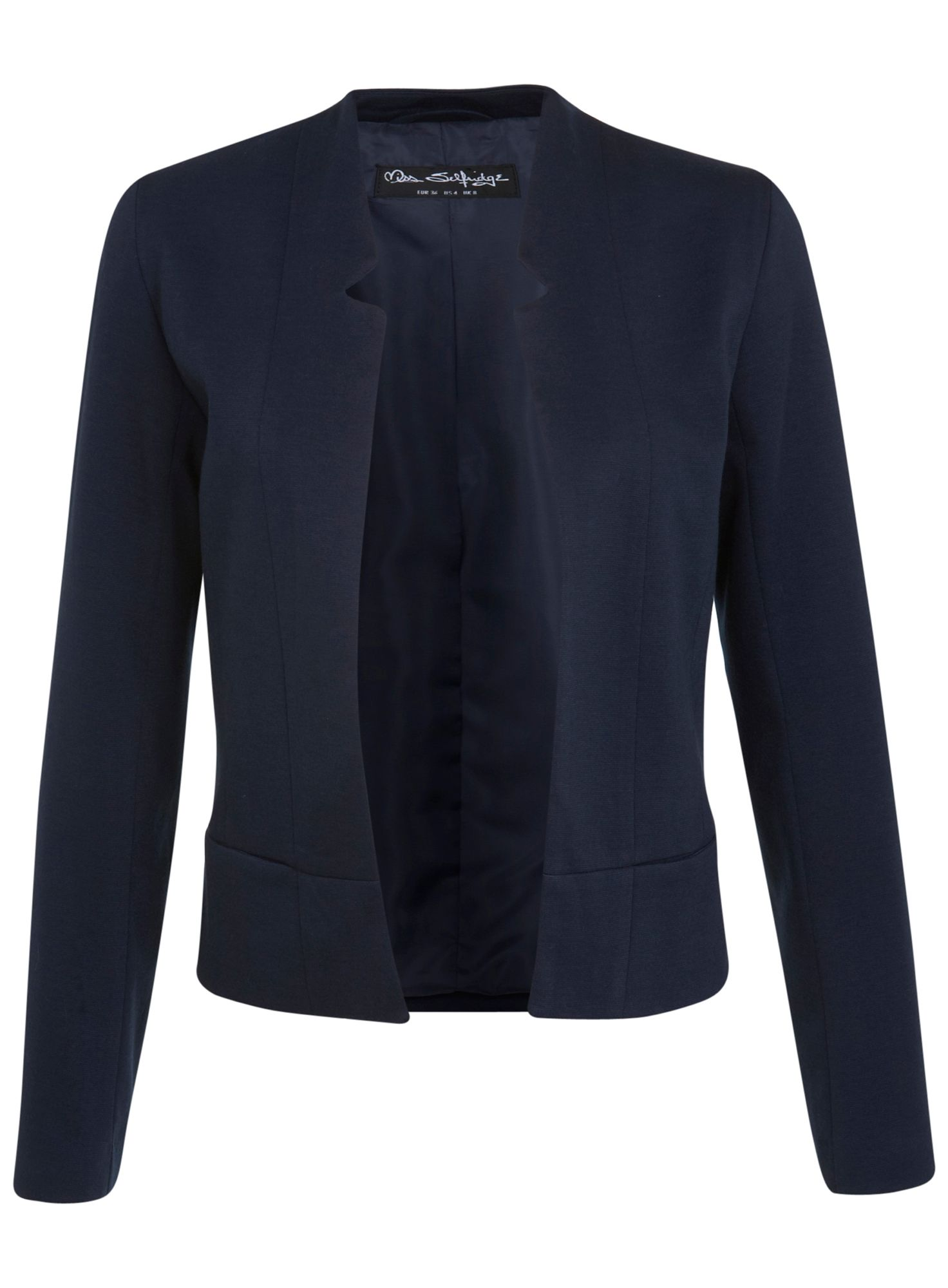 Notch ponte jacket