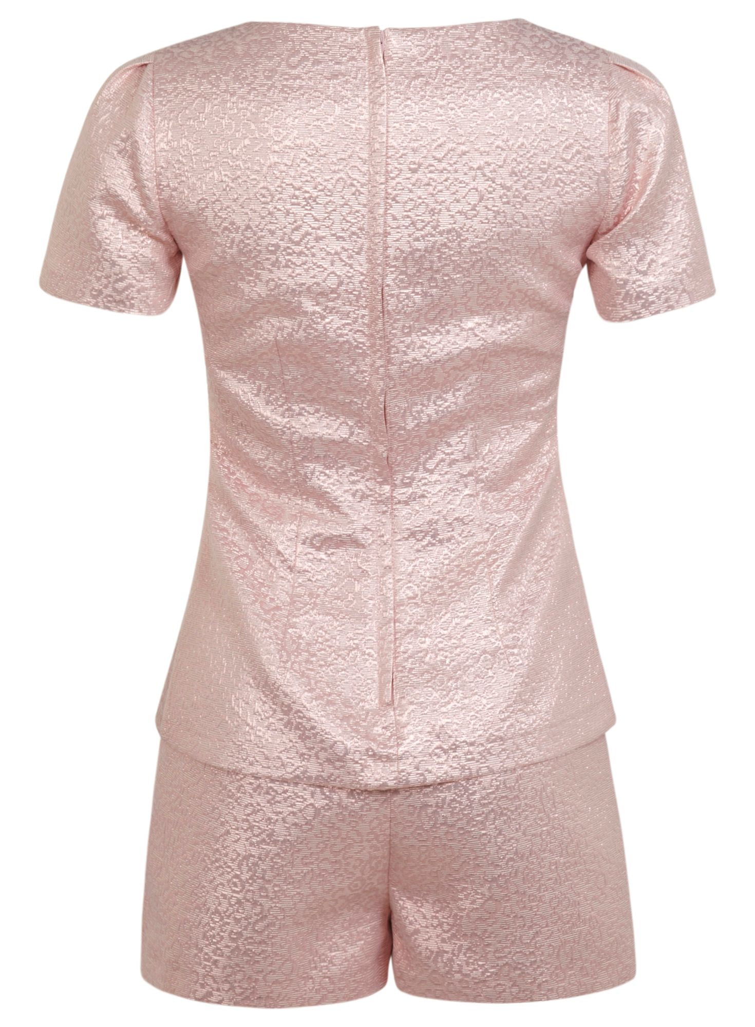 Shimmer playsuit