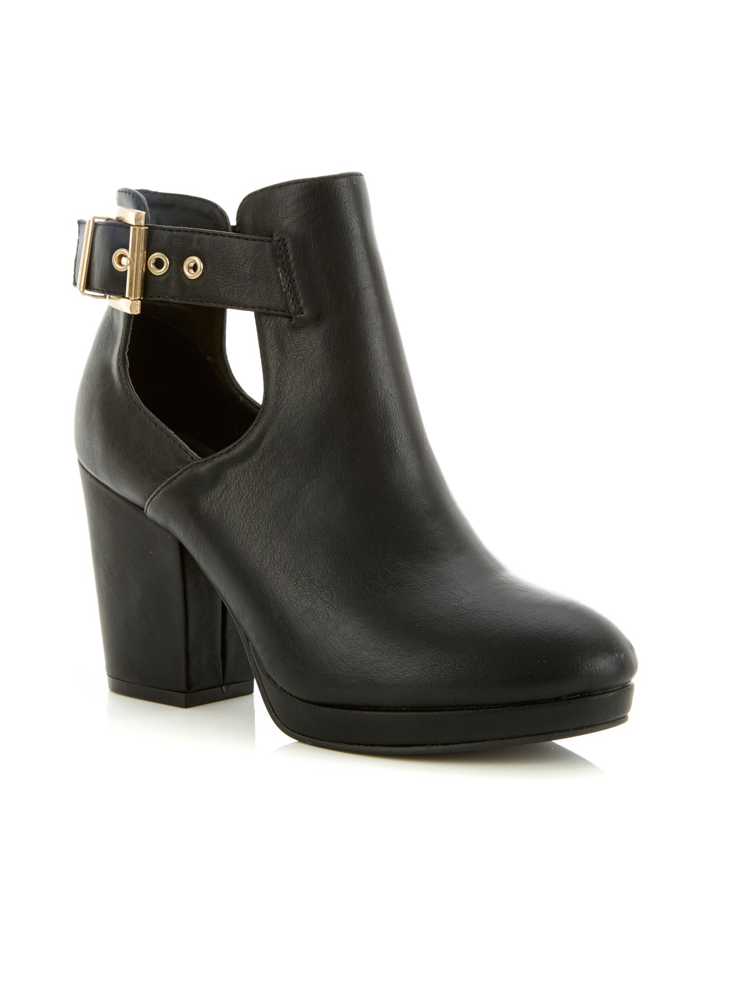 Amour cut out boot