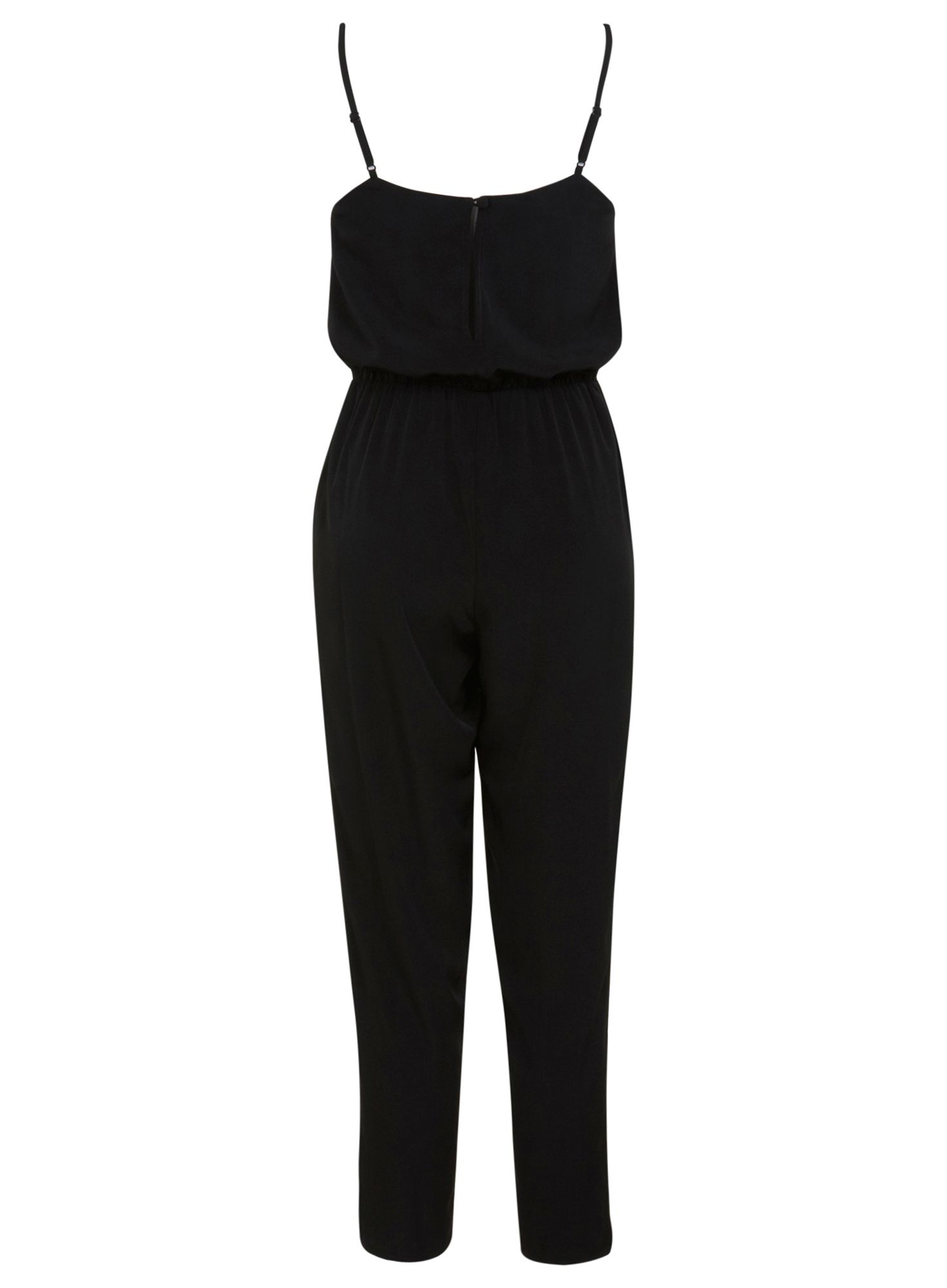 camisole black jumpsuit