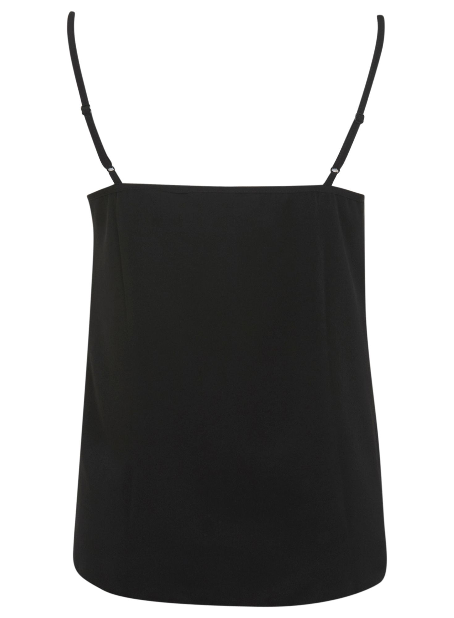 Plain v black camisole