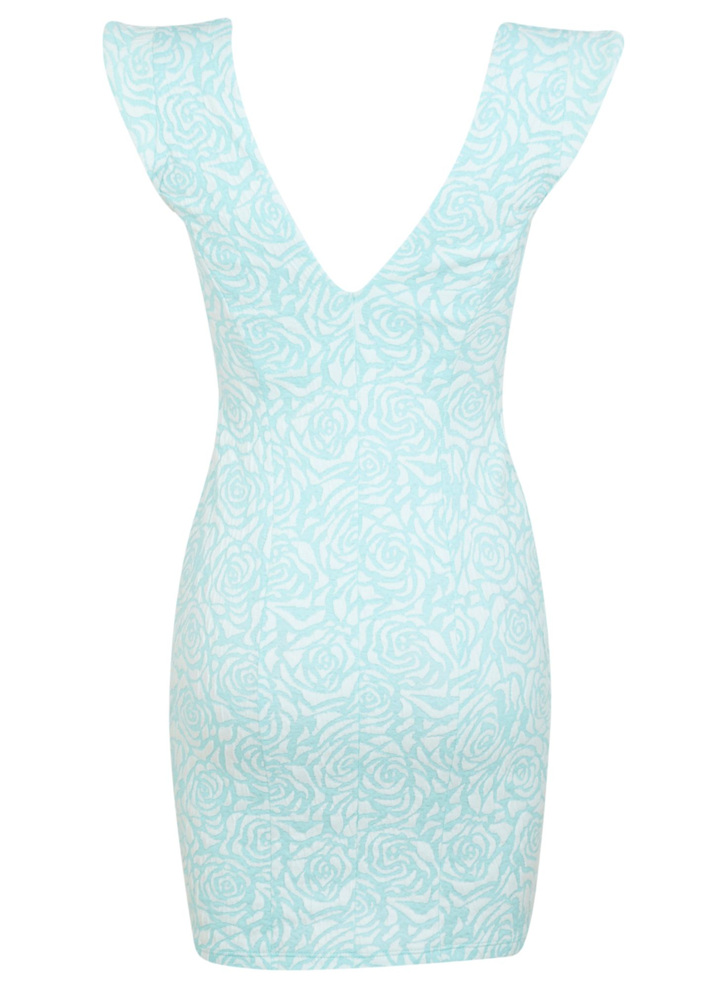 Petites mint rose bodycon