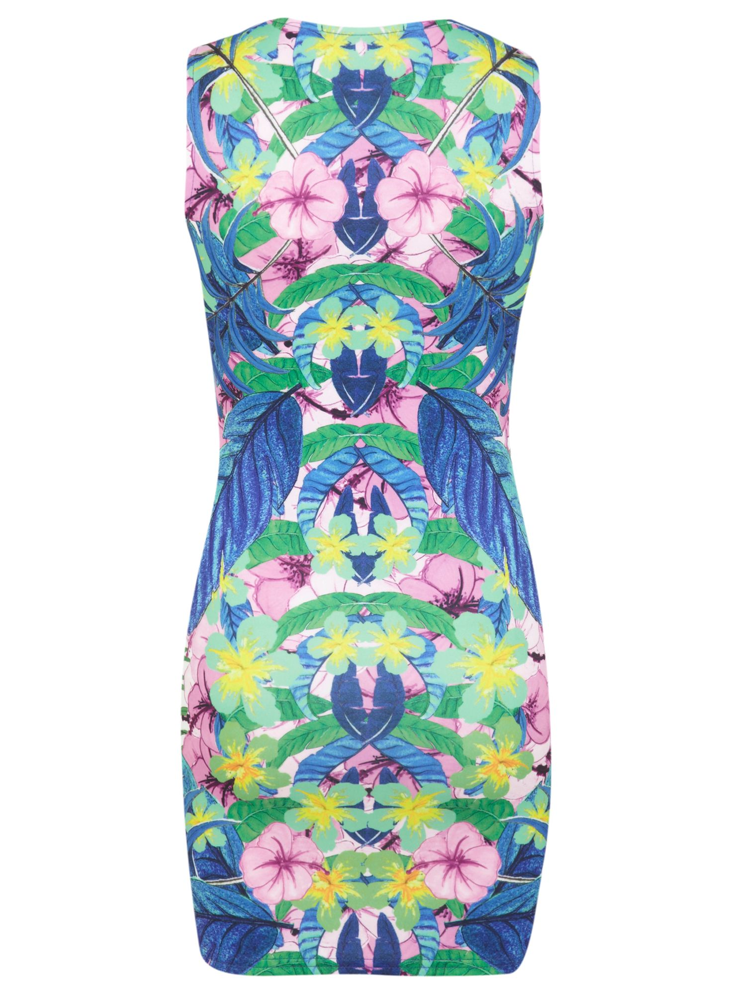 Petites tropical bodycon