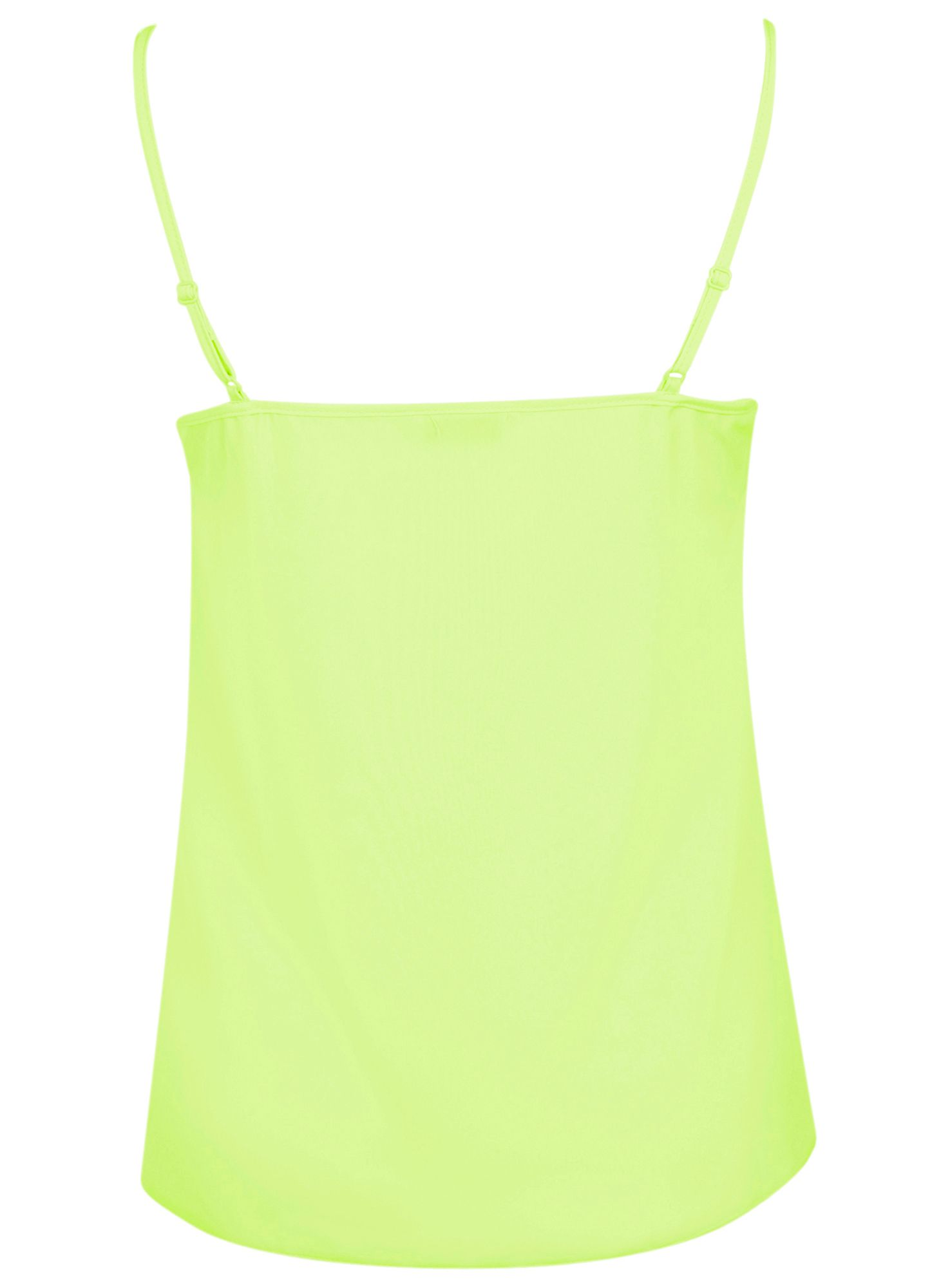 Lime v-neck camisole