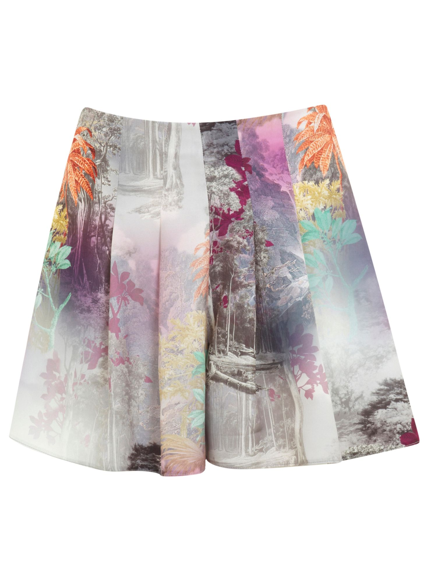 Digital printed skort