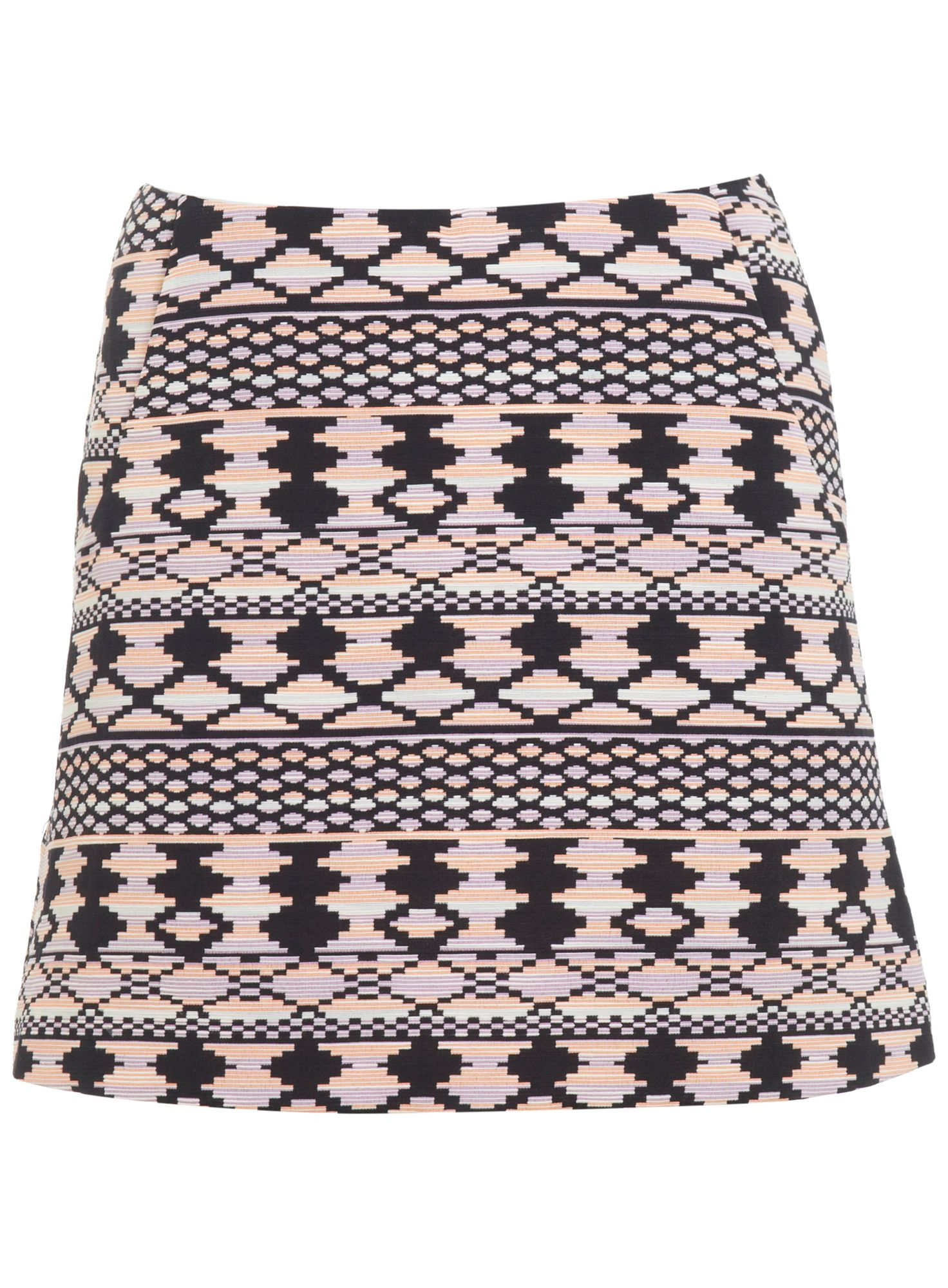 Aztec mini skirt