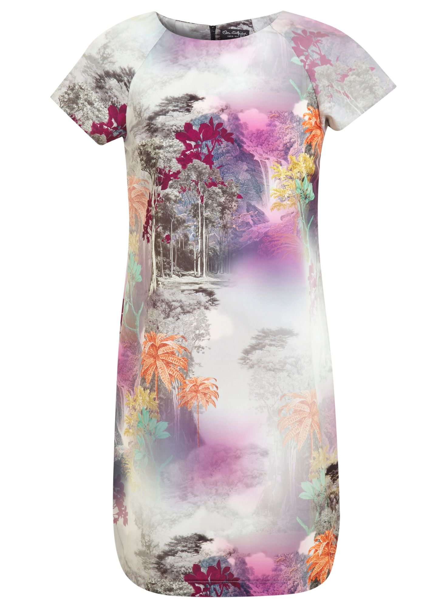 Digital t-shirt dress