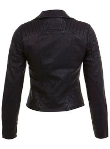 Molly Faux Leather Biker