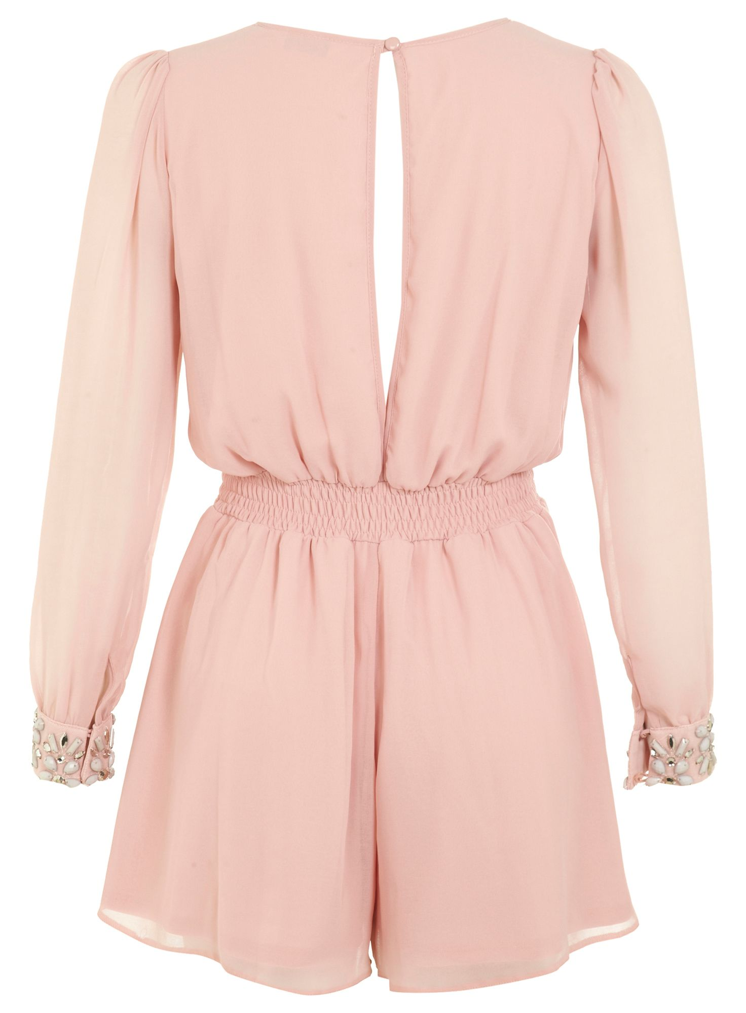 Petites Jewel Cuff Playsuit