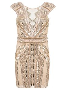 Petites Sequin Bodycon Dress