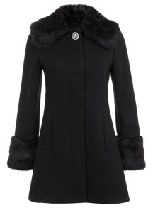Peterpan Faux Fur Coat
