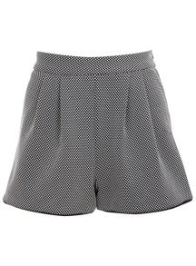Monochrome texture shorts