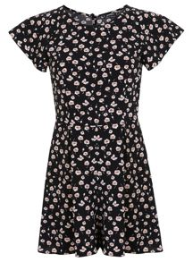 Petites Ditsy Floral Playsuit