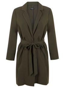 Crepe Belted Duster