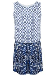 Printed Layer Playsuit