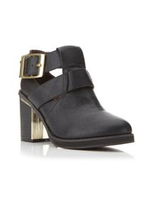 Adele Metal Flash Ankle Boots