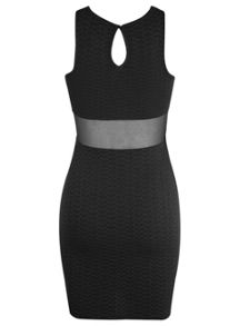 Petites Black Bodycon Dress