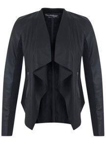 Black Waterfall Jacket