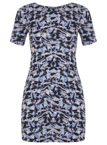 Petites Printed Tee Dress