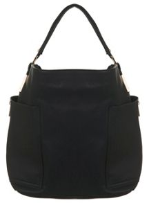 Black Smart Hobo Bag