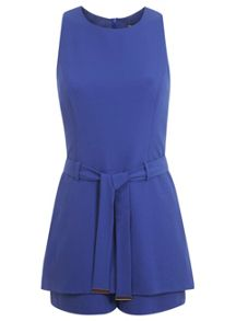 Tabbard Belted Playsuit