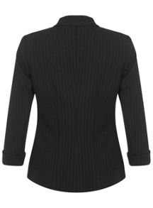 Black Pinstripe Jacket