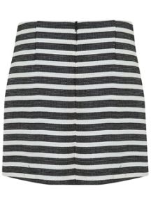 Miss Selfridge Stripe Boucle Mini Skirt