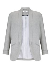 Miss Selfridge Petites Grey Blazer Jacket