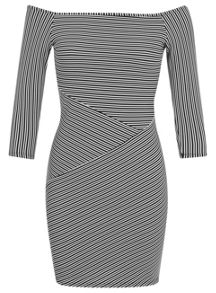 Petites Stripe Cutabout Dress