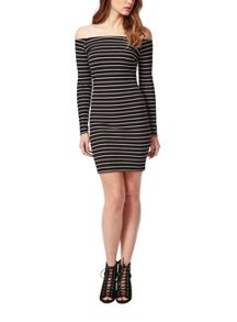 Petites Rib Bodycon Dress