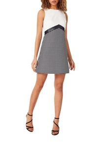 Miss Selfridge Mono Colourblock Shift Dress