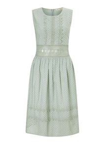Miss Selfridge Lace Broderie Prom Dress