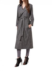 Miss Selfridge Maxi Trench Coat