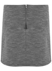 Miss Selfridge Grey texture A Line skirt