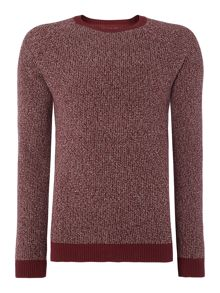 Marl Crew Neck Knitted Jumper