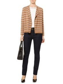 Linea Stripe knitted jacket
