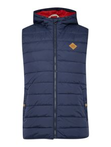 Zip Through Padded Body Warmer