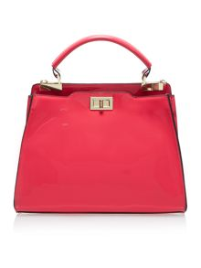 Dhalia triple compartment handbag