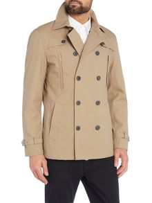 Selected Homme Double Breasted Trench Coat