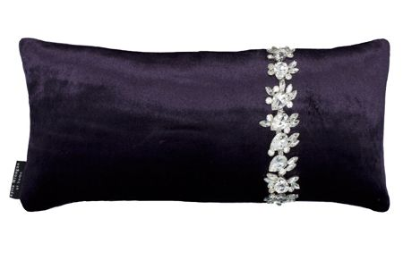 Kylie Minogue Crystal Amethyst Cushion