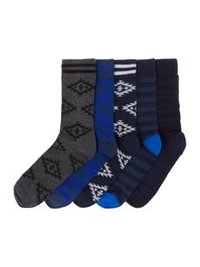 Jack & jones 5pk adam sock