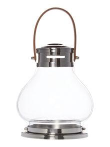 Linea Medium Metal Lantern