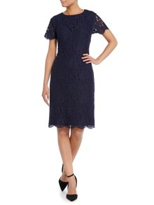 Dickins & Jones Lace Dress with Sleeves